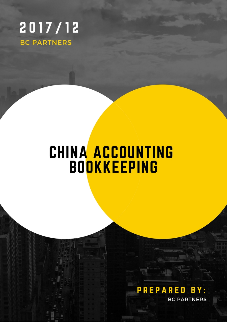 China's Accounting Services & Bookkeeping Services